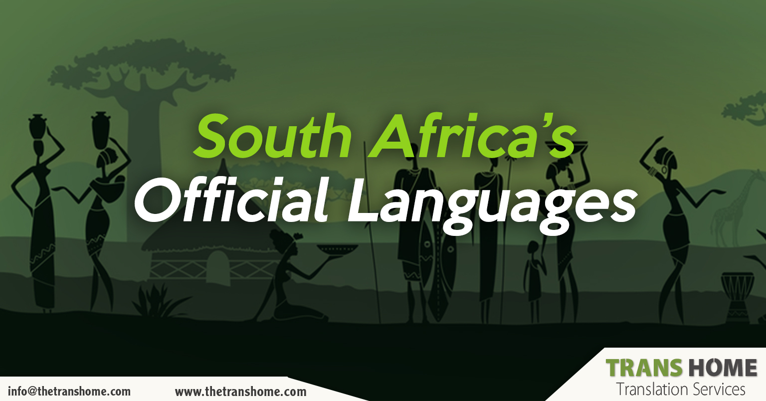 African languages | South Africa official languages
