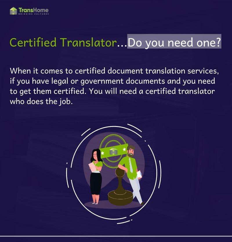 Certified translator in Dubai | certified translation in Dubai